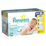 Pampers Sensitive Wipes 12x Pack 744 Count