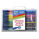 Magic Stix 24pk - Washable markers that won't dry out! (Color: Assorted, Tamaño: 24 pack)