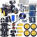 Kuman SM3 Wi-Fi Robot Car Kit for Arduino, 4 Wheel Utility Vehicle wifi Intelligent Robotics arduino DS robot HD camera wireless Robot Smart Car kit 7.4V
