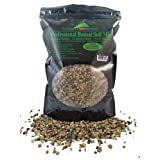 Bonsai Soil Mix - Premium Professional, All Purpose, Sifted and Ready To Use Tree Potting Blend In Easy Zip Bag - Akadama, Black Lava, Pumice, Haydite & Charcoal -