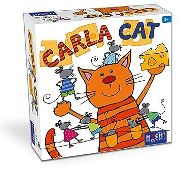 Huch & Friends - 878182 - Jeu De Bois/Cartes - Carla Cat