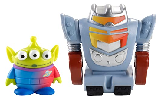 Robots vs Aliens Alien And Robot 2-pack