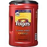 Folgers Coffee, Classic(Medium) Roast, 51 Ounce (Color: Red, Tamaño: 51 Ounce)