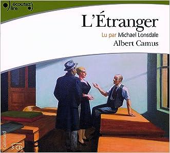 L'Etranger AUDIO CD (French Edition)