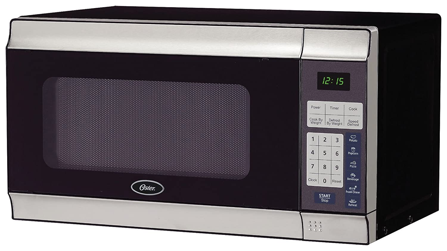 Oster Am780ss 0.7-Cubic Foot, 700-Watt Countertop Microwave Oven
