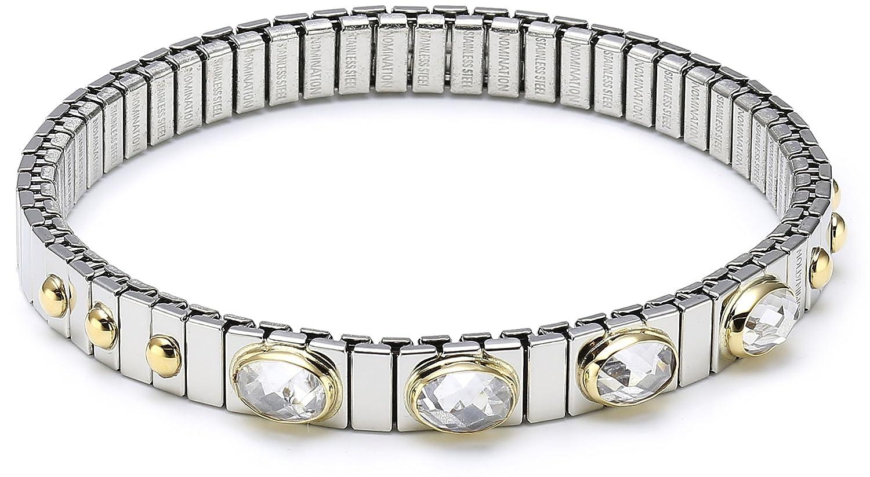 Nomination Damen-Armband Klein Zirkone Facettiert Weiß 042502/010 günstig