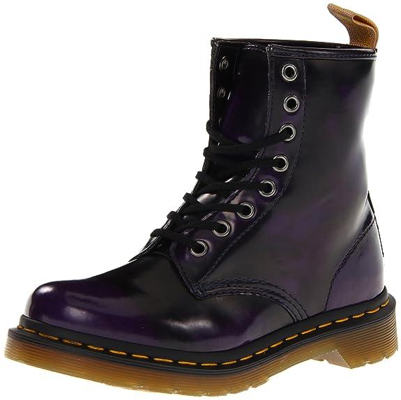 Dr. Martens 1460 Vegan 14045001-1, Boots mixte adulte - Violet-TR-SW131, 38 EU