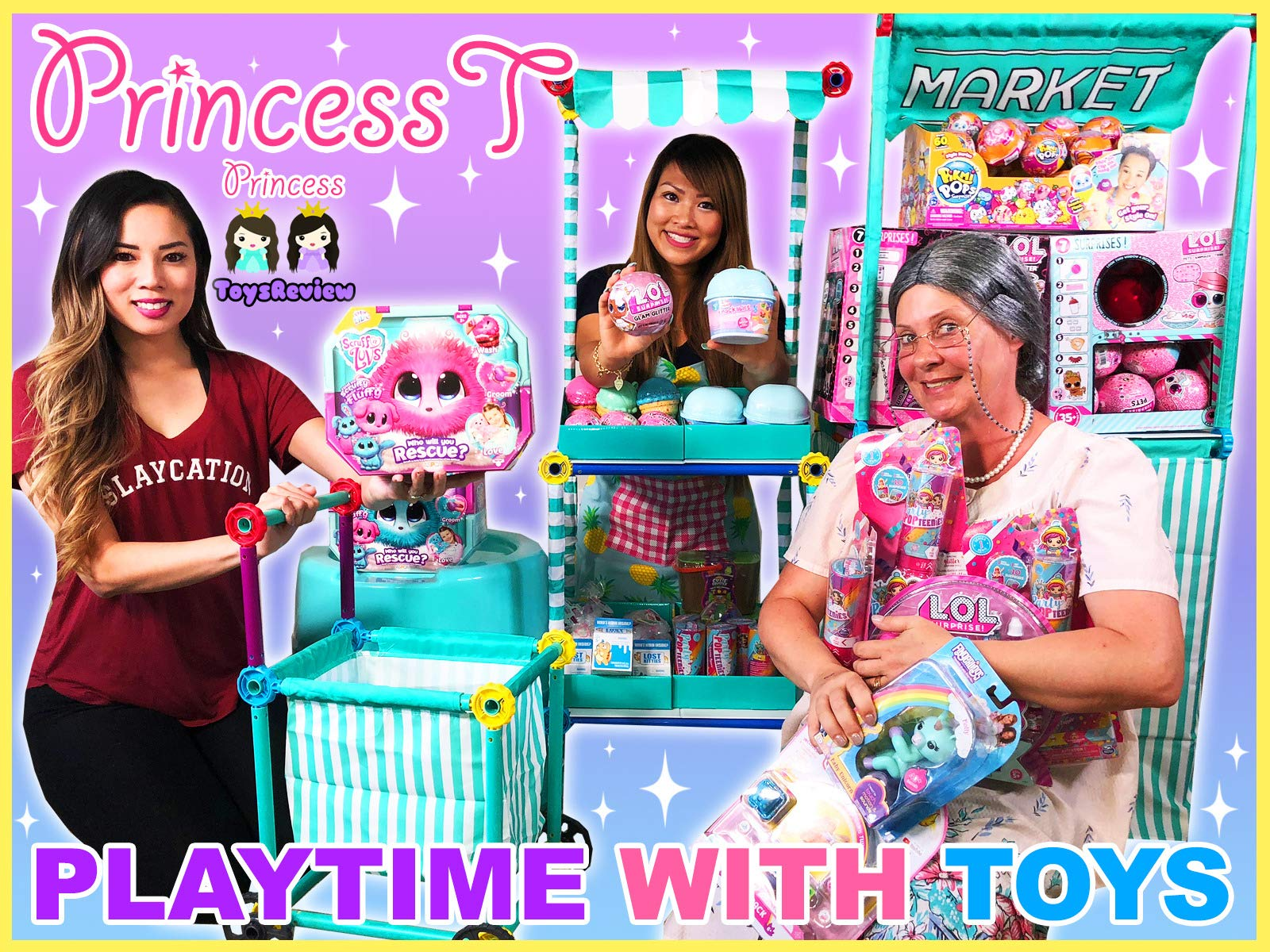 Clip: Princess T Playtime with Toys - Season 1