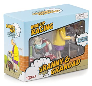 Goodson - Figurines à remonter Racing granny & grandad