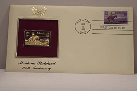 Gold Replica Stamps First Day Issue Gold Replica