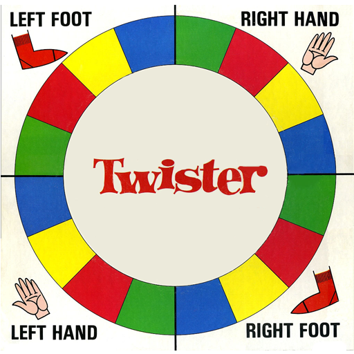 online twister game spinner
