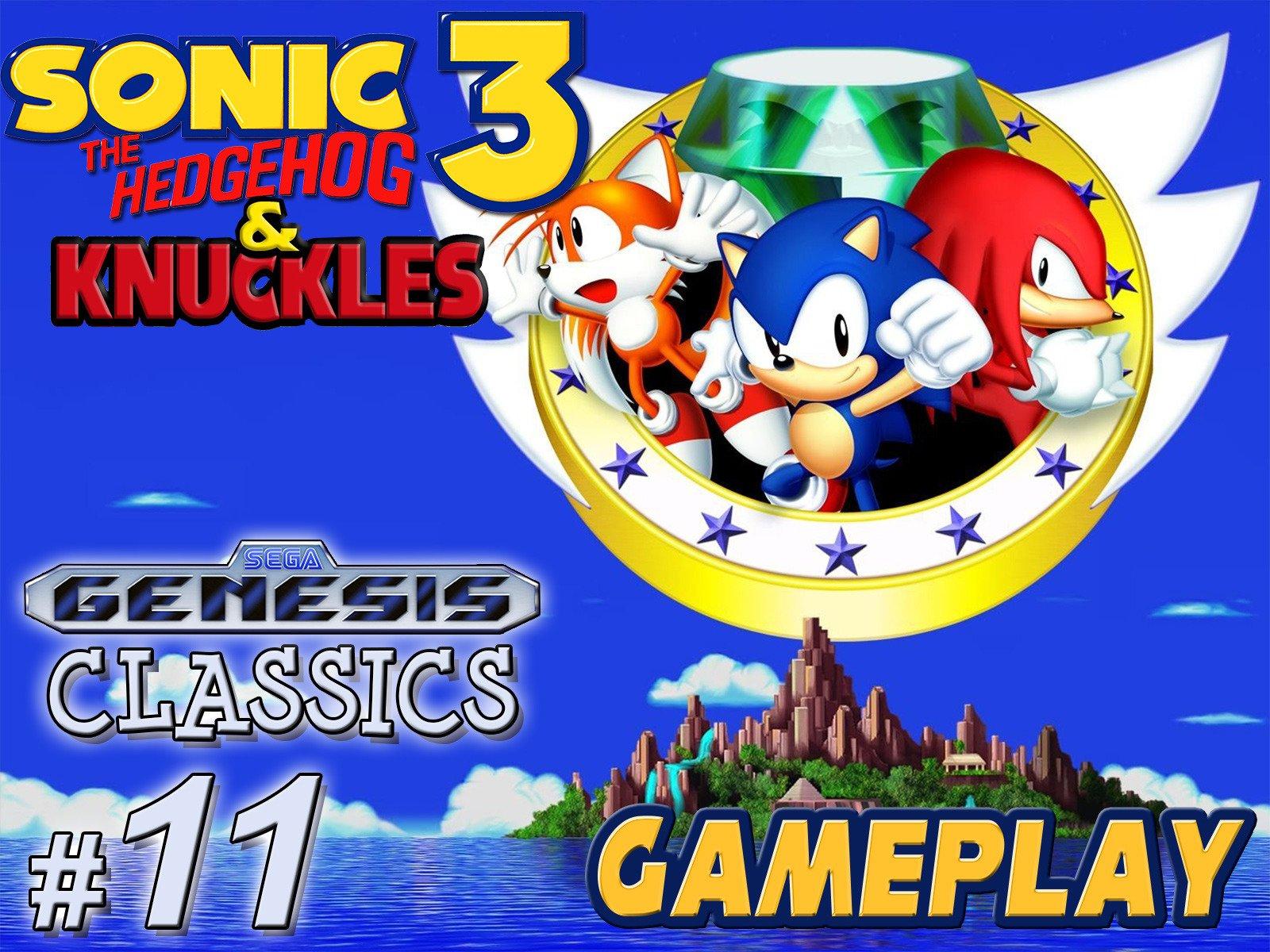 Clip: Sonic the Hedgehog 3 & Knuckles Gameplay (Genesis Classics 11) - Season 1