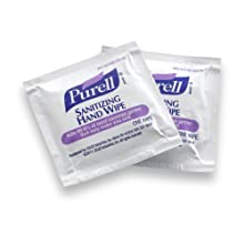 PURELL 9022-10 Sanitizing Hand Wipes, 1000-Count (10 Cases of 100)