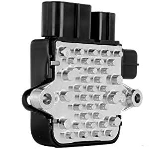cciyu HVAC Blower Motor Resistor Fan Heating and Air Conditioning Blower Motor Resistor AC Blower Control Module fit for 2006-2008 Mazda 6 2003-2007 Mitsubishi Outlander 2002-2007 Mitsubishi Lancer