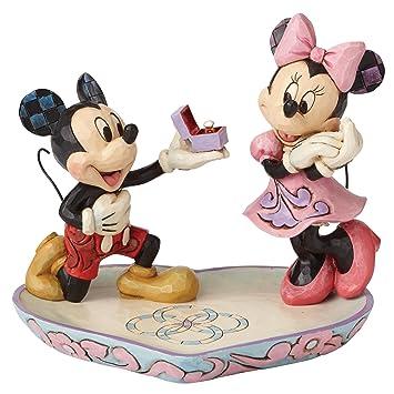 Disney Tradition - 4055436 - Figurine - Mickey Minnie - La Déclaration - Moment Magique