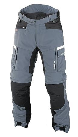 NERVE 15110714039_02 G-Drive Pantalon de Moto Touring Textile, Gris/Noir, Taille : S