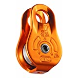 Petzl - FIXE, Pulley with Fixed Side Plates, Yellow (Color: Gold, Tamaño: One Size)