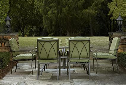 Patio Dining Set 7 Piece Set Weather Resistant