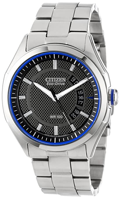 Citizen Men's Drive from Citizen Eco-Drive HTM 2.0 Stainless Steel Watch-奢品汇 | 海淘手表 | 腕表资讯