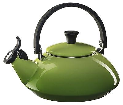 Le Creuset Enameled Steel Zen Tea Kettle, 1-2/3-Quart