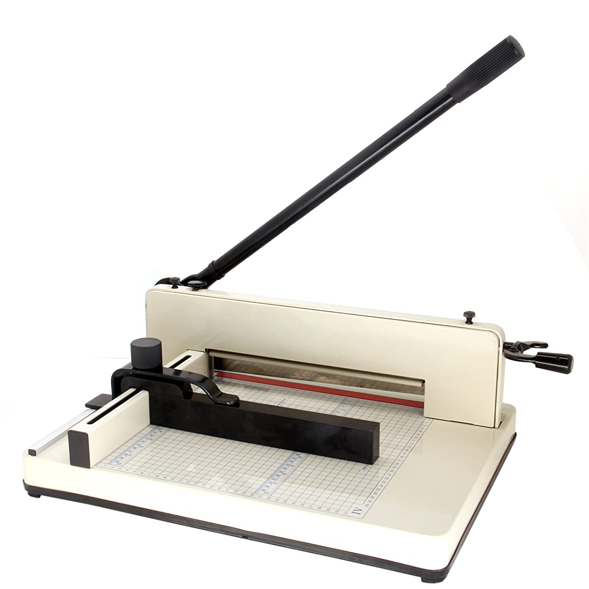 """HFS (R) New Heavy Duty Guillotine Paper Cutter - 12"""" Commercial Metal Base A3/A4 Trimmer"""
