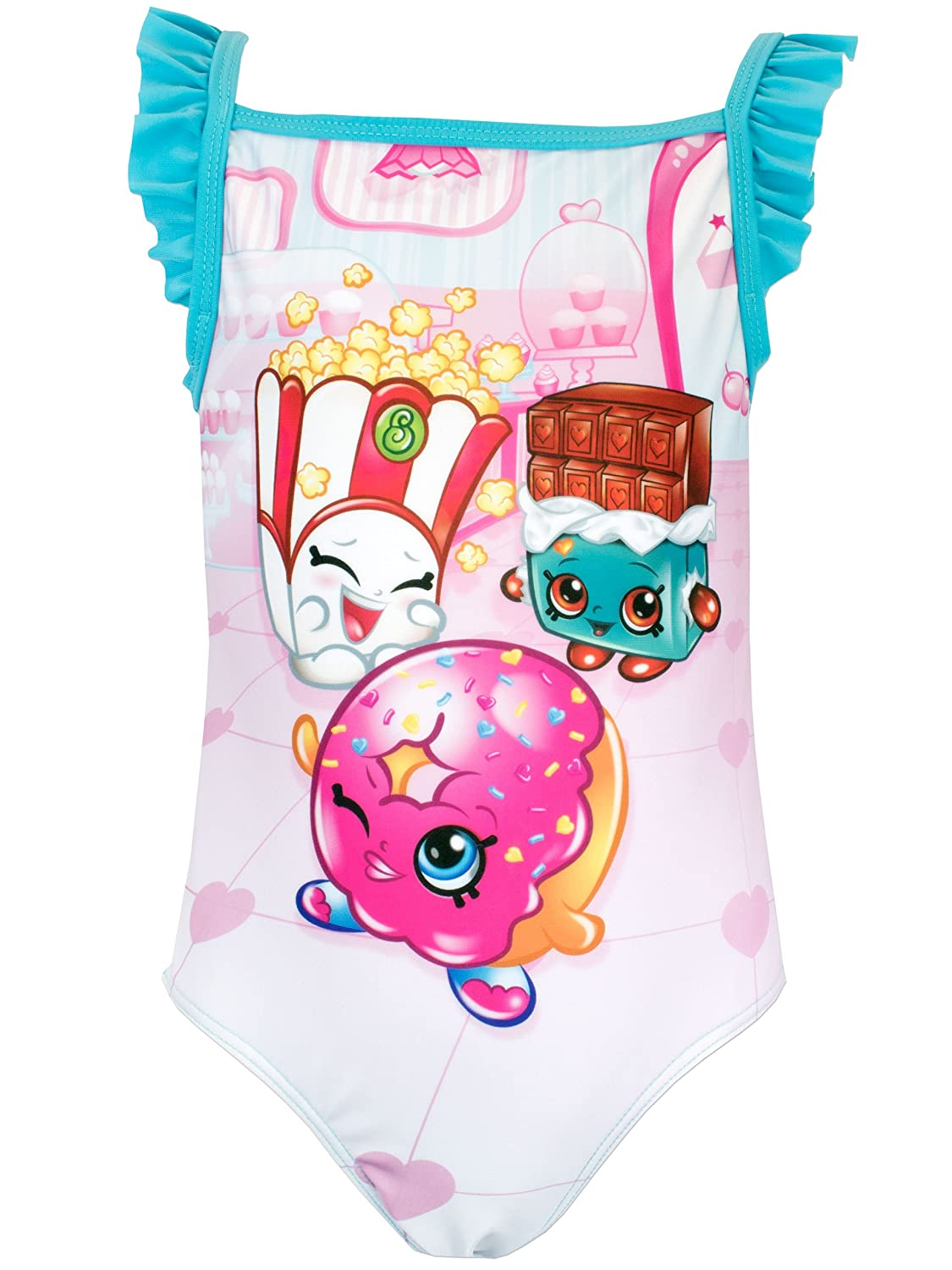 Shopkins Girls Shopkins Swimsuit