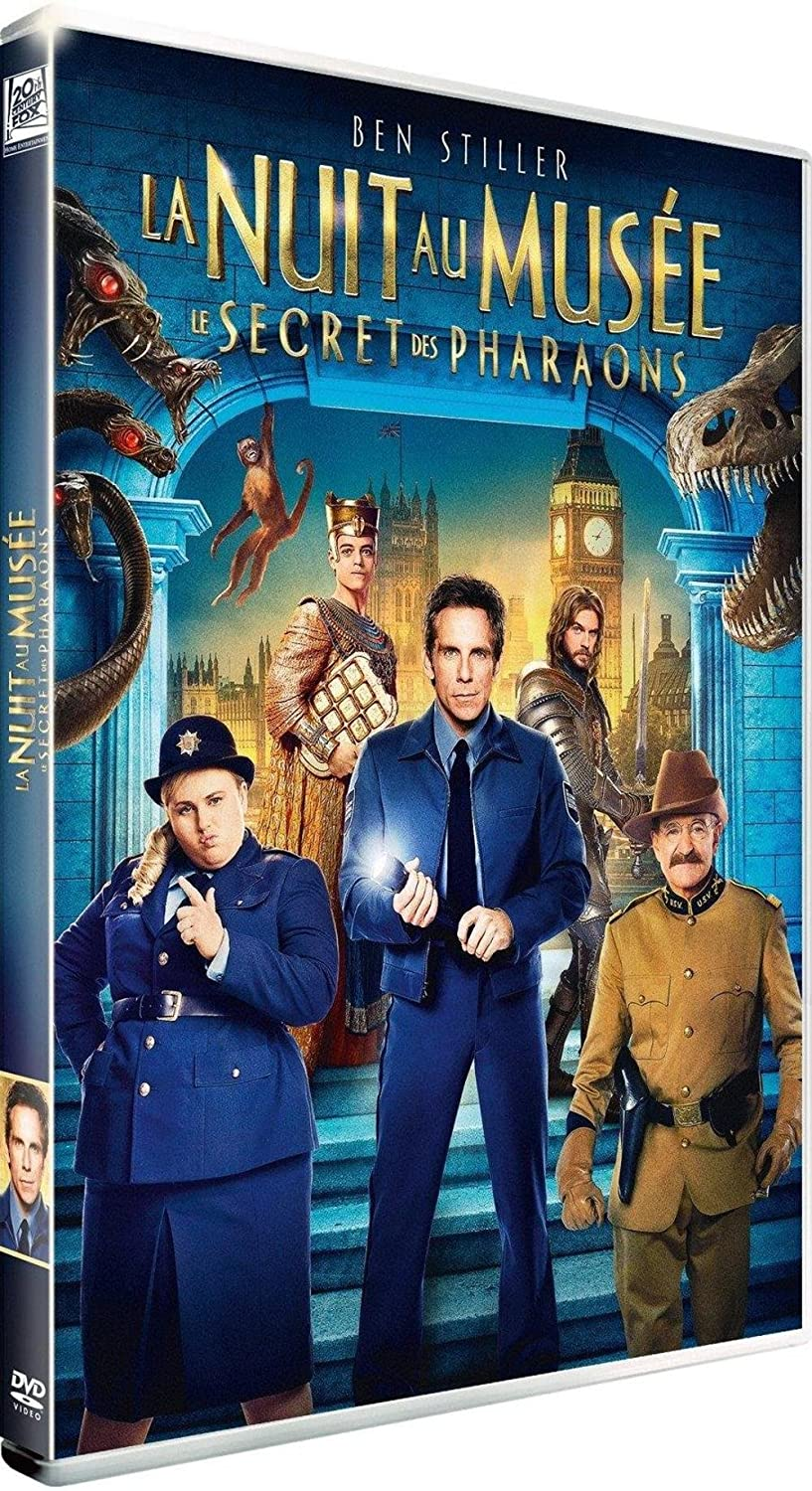 La Nuit au musée 3 = Night at the museum 3 : secret of the tomb : Secret des pharaons (Le) / Shawn Levy, Réal. | Levy, Shawn. Monteur