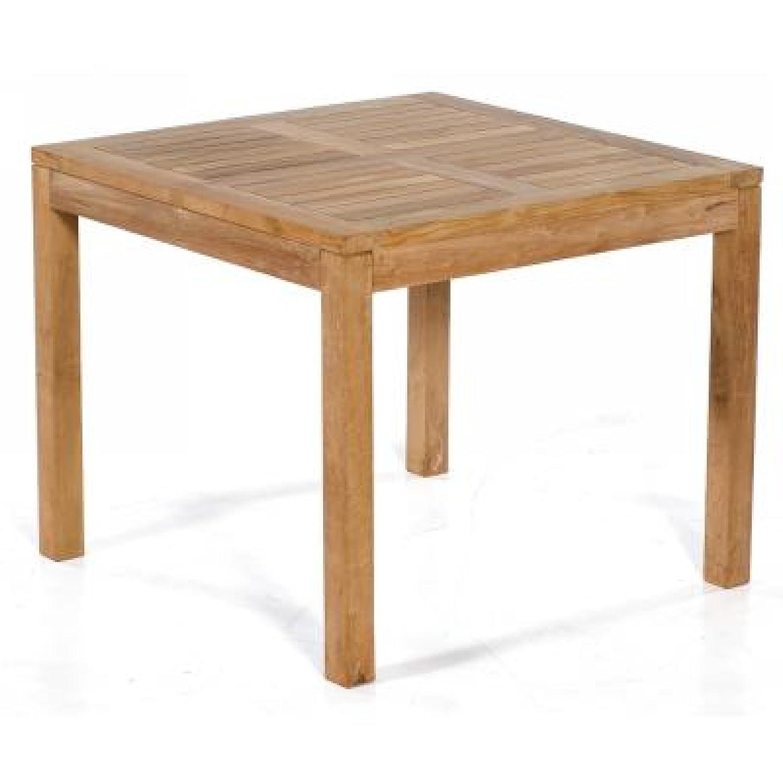 Sonnenpartner Gartentisch Wellington 90 cm x 90 cm Teakholz Teak Pure 80061216 online kaufen