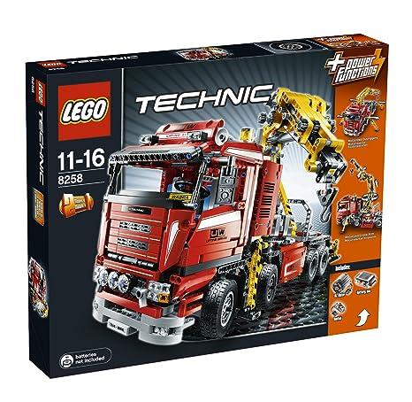 LEGO - 8258 - Jeu de construction - Technic - Le camion-grue