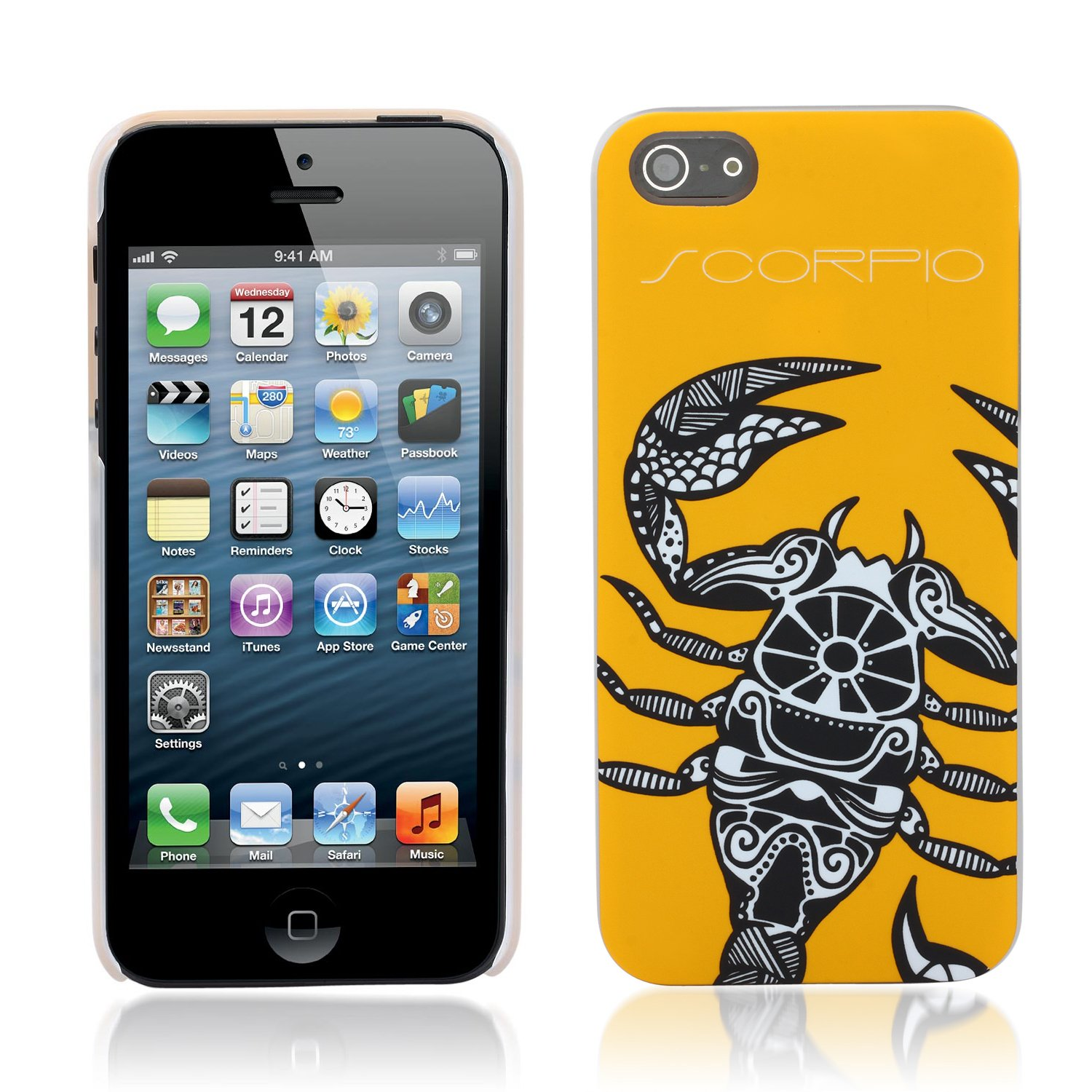 Aduro HOROSCOPE Snap-on Hard Case Cover for Apple iPhone 5 (Scorpio)