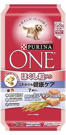 ピュリナ ワン ドッグ ほぐし粒入り 7歳以上 これからも健康ケア チキン 4.2kg