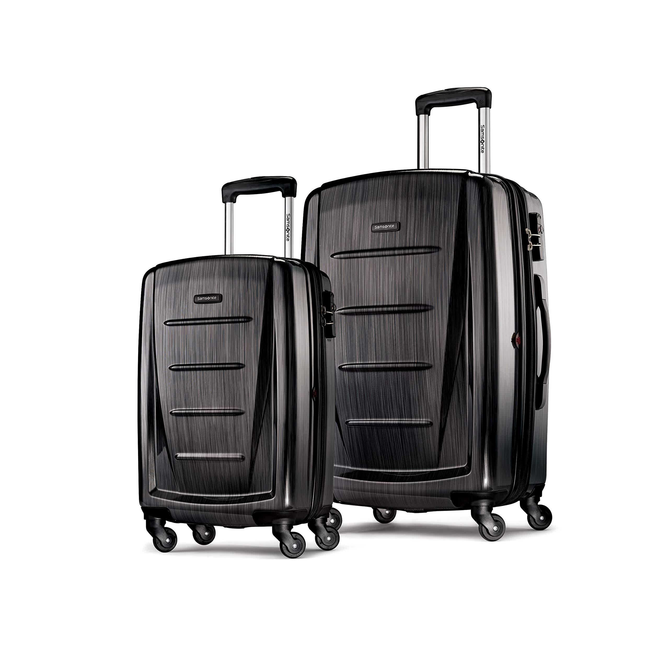 쌤소나이트 윈필드2 20인치 + 28인치 2피스 세트 Samsonite Winfield 2 Expandable Hardside 2-Piece Luggage Set (20/28) with Spinner Wheels