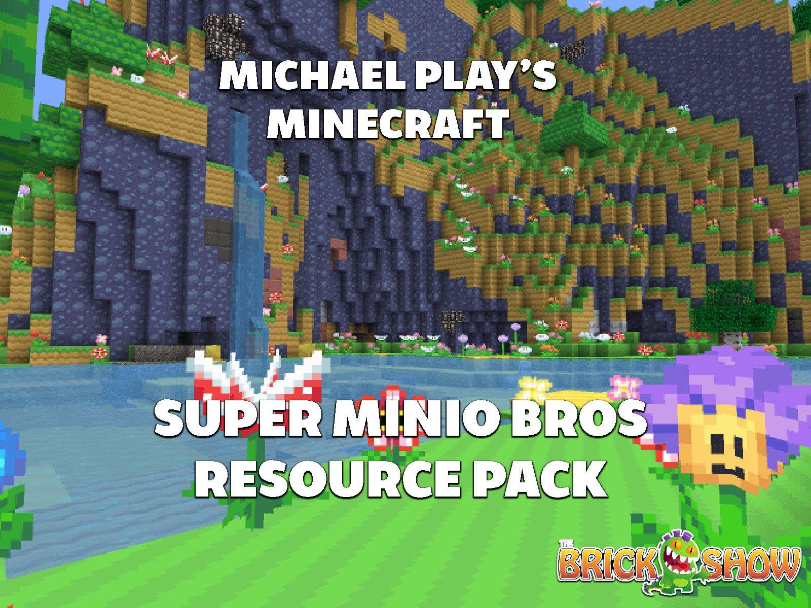 Clip: Michael Play's Minecraft Super Mario Minio Bros. Resource Pack