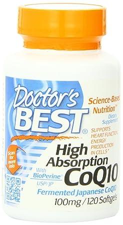 海淘辅酶CoQ10:Doctor's Best 强效吸收 辅酶 CoQ10