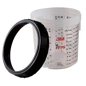 3M 16115 PPS Mini Cup and Collar (Tamaño: Mini)