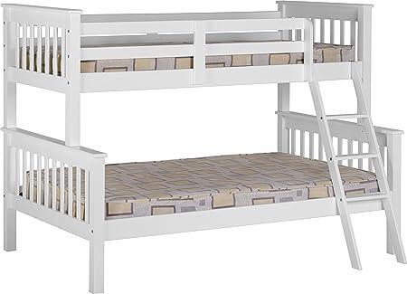 Neptune Triple Sleeper Bunk Bed in White
