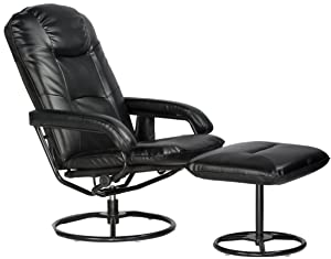 Comfort Products 60-0582 Leisure Recliner Chair with 10-Motor Massage & Heat