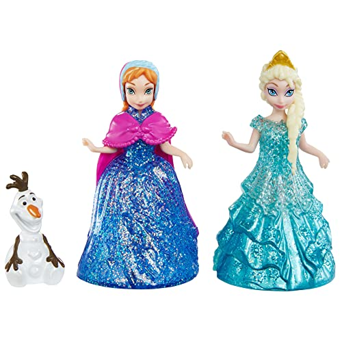 Disney Frozen Glitter Glider Anna Elsa and Olaf Doll Set