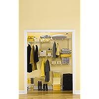Rubbermaid FG3R20FTWHT FastTrack Multi-Purpose Closet Kit (White)