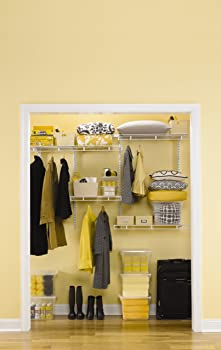 Rubbermaid FastTrack Multi-Purpose Closet Kit