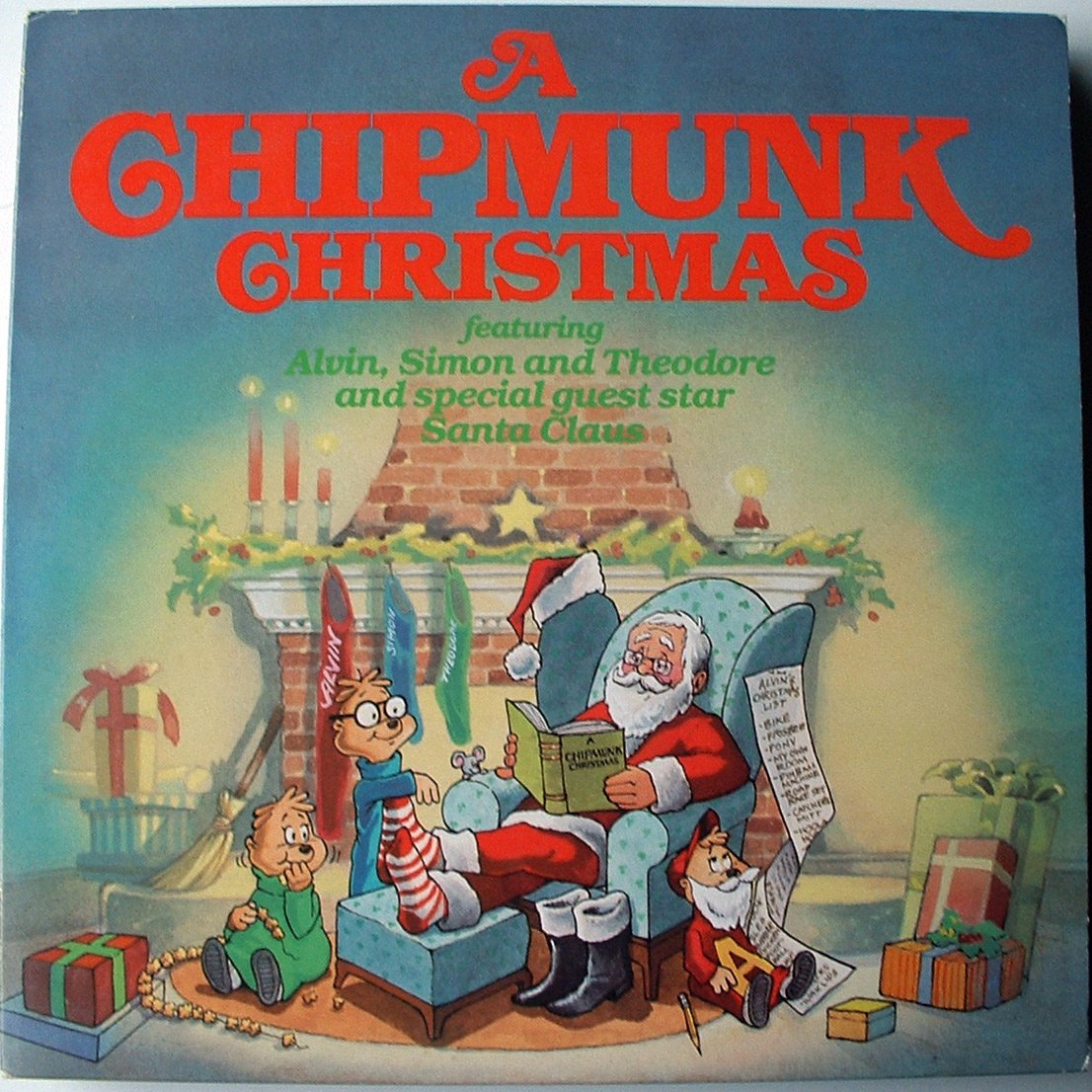 The Chipmunks- The Chipmunk Song (Christmas Don\'t Be Late) 1981 re ...