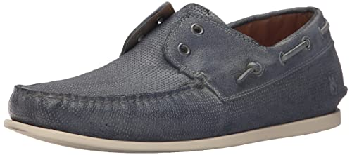 John Varvatos Men's Schooner Boat Shoe