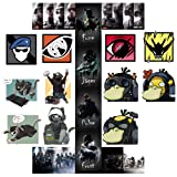 GTOTd Rainbow Six 4x4'' Stickers 19pcs PVC: Waterproof Vinyl Stickers Collection(Premium Quality )