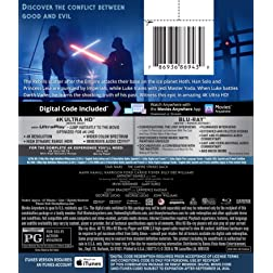 STAR WARS: THE EMPIRE STRIKES BACK [4K Ultra HD + Blu-ray]