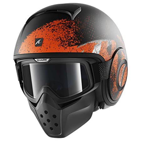 Shark - Casque moto - Shark Raw Outcast MAT KOS