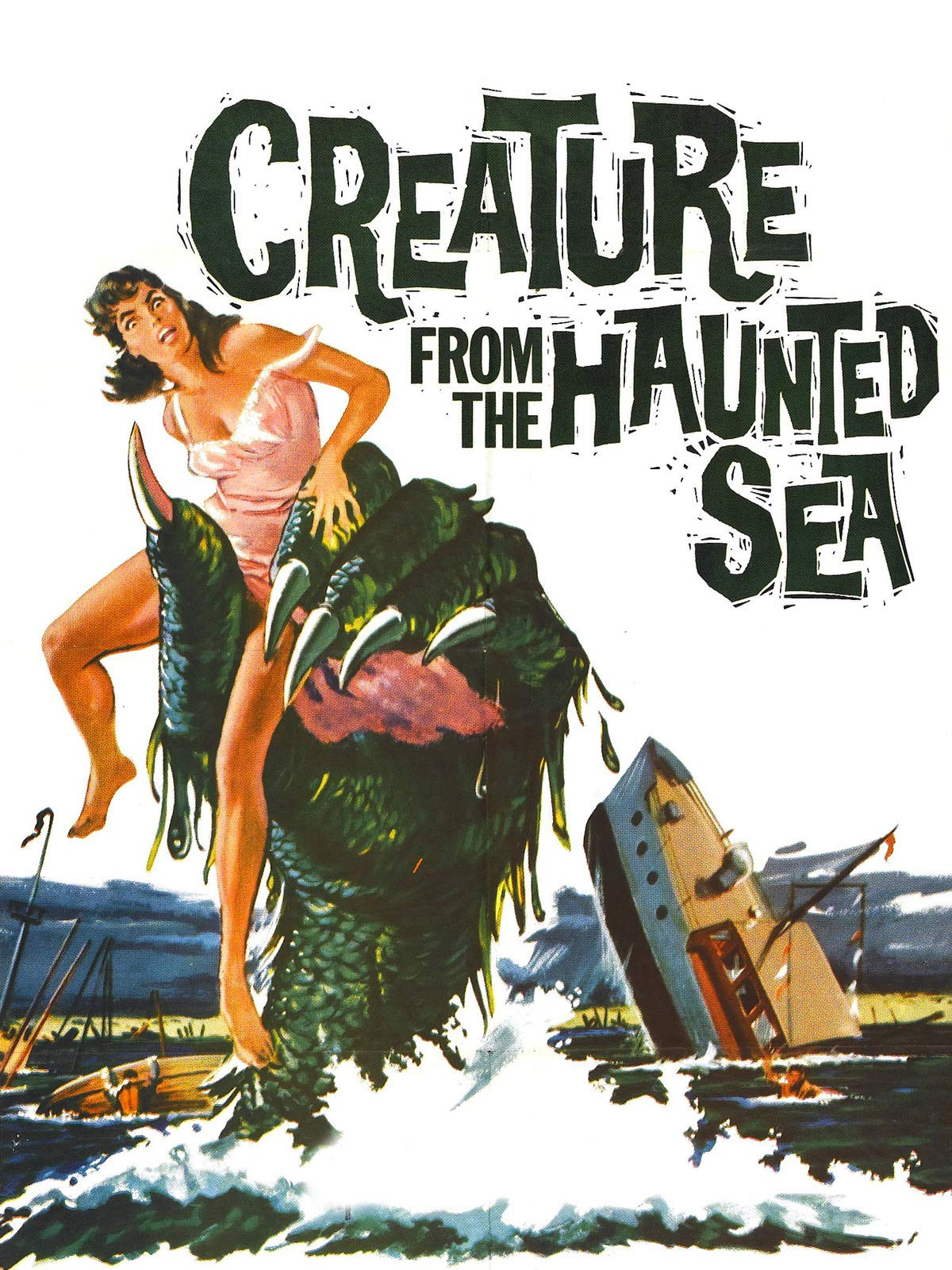 Creature From The Haunted Sea on Amazon Prime Instant Video UK