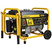 WEN Gas Powered Portable Generator with Wheel Kit