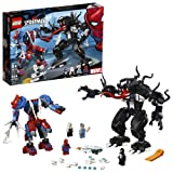 LEGO Marvel Spider-Man: Spider Mech vs. Venom 76115 Building Kit (604 Piece) (Color: Multicolor)