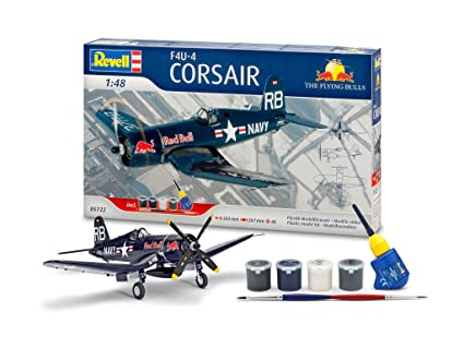 Revell - 05722 - Maquette - Aviation - Coffret Cadeau F4U-4 Corsair - Flying Bulls