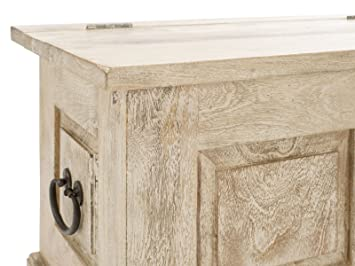 8 banc coffre patina en en manguier naturel cuisine maison m170. Black Bedroom Furniture Sets. Home Design Ideas